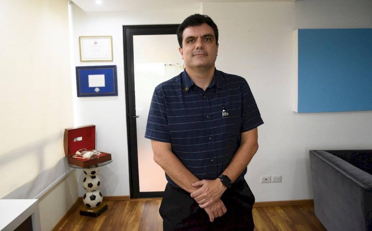 Gerardo Paiz, presidente de la Fedefut