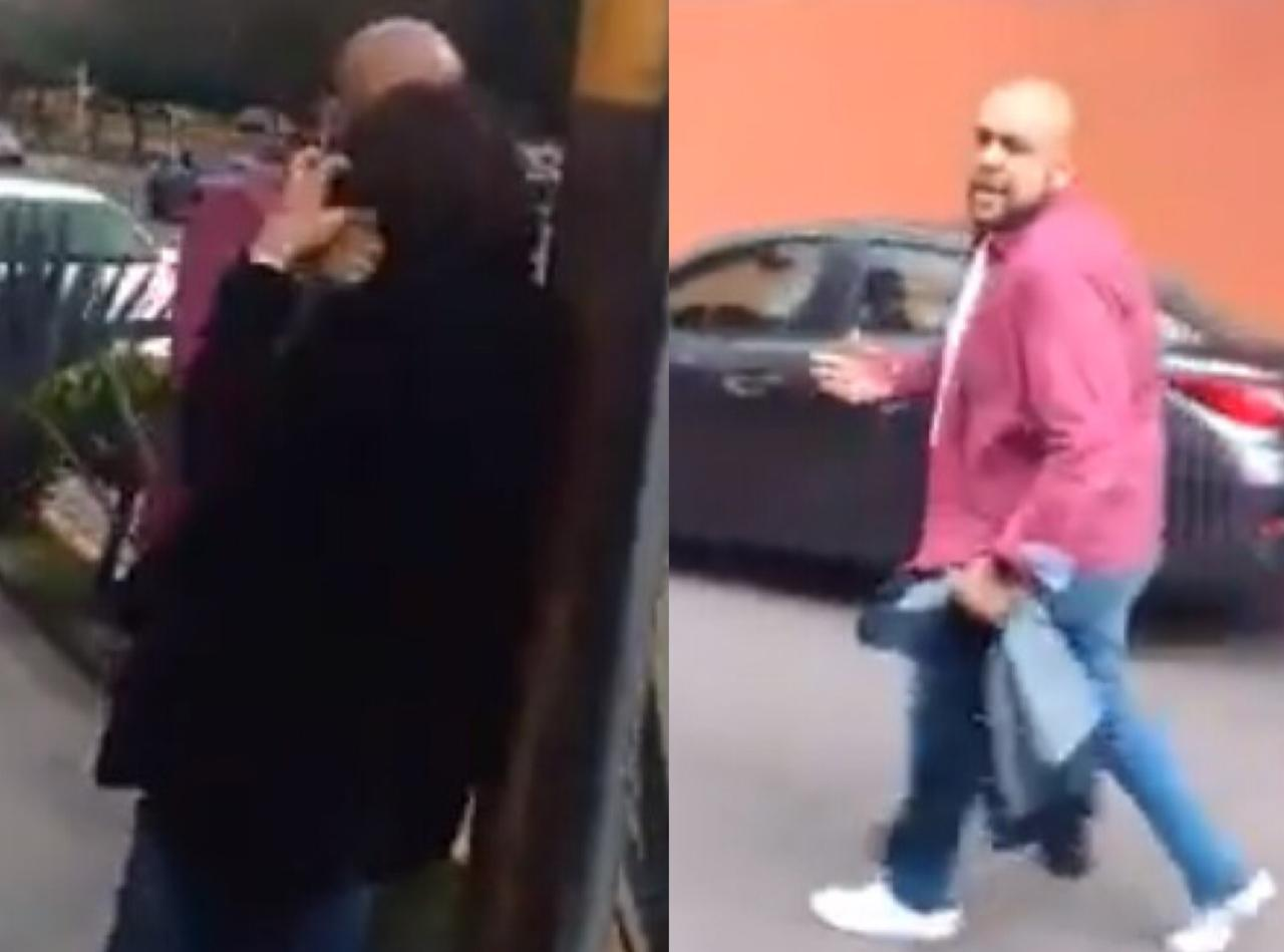 Hombre agrede a mujer 001