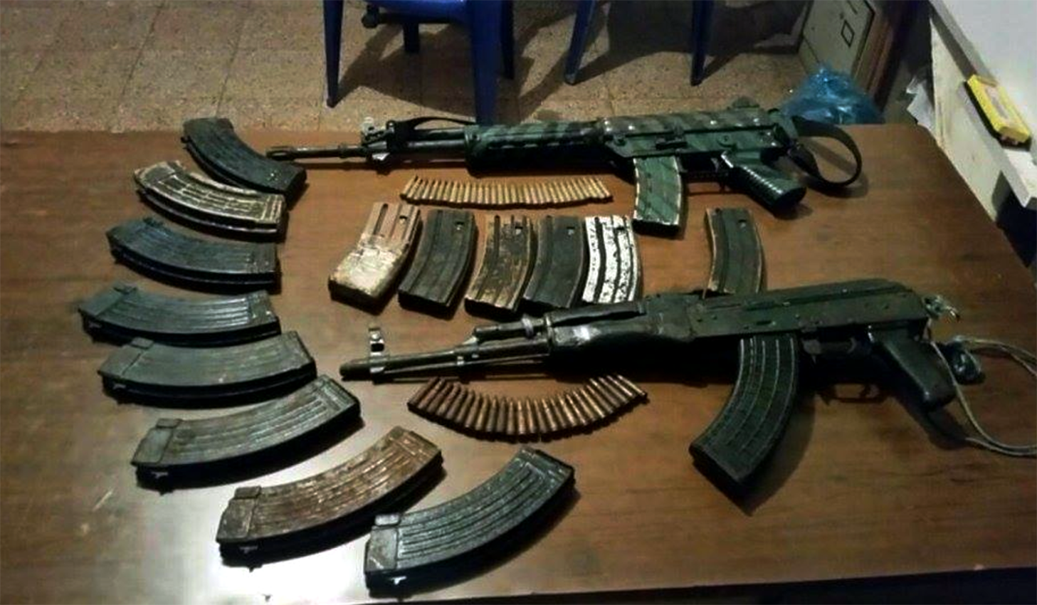 La pandilla MS13 adiestró pandilleros para uso de armas en El Salvador