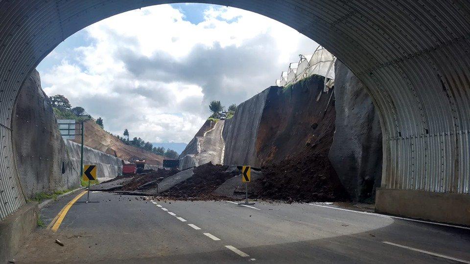 Libramiento de Chimaltenango, ciclistas