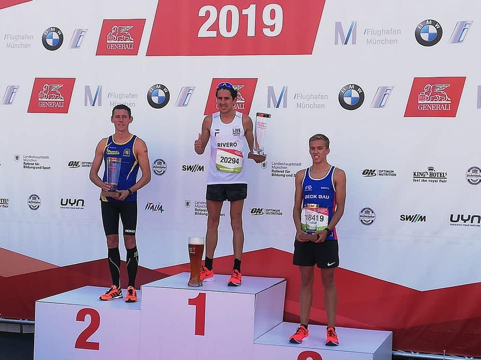 Luis Carlos Rivero, Media Maratón de Miami 2020