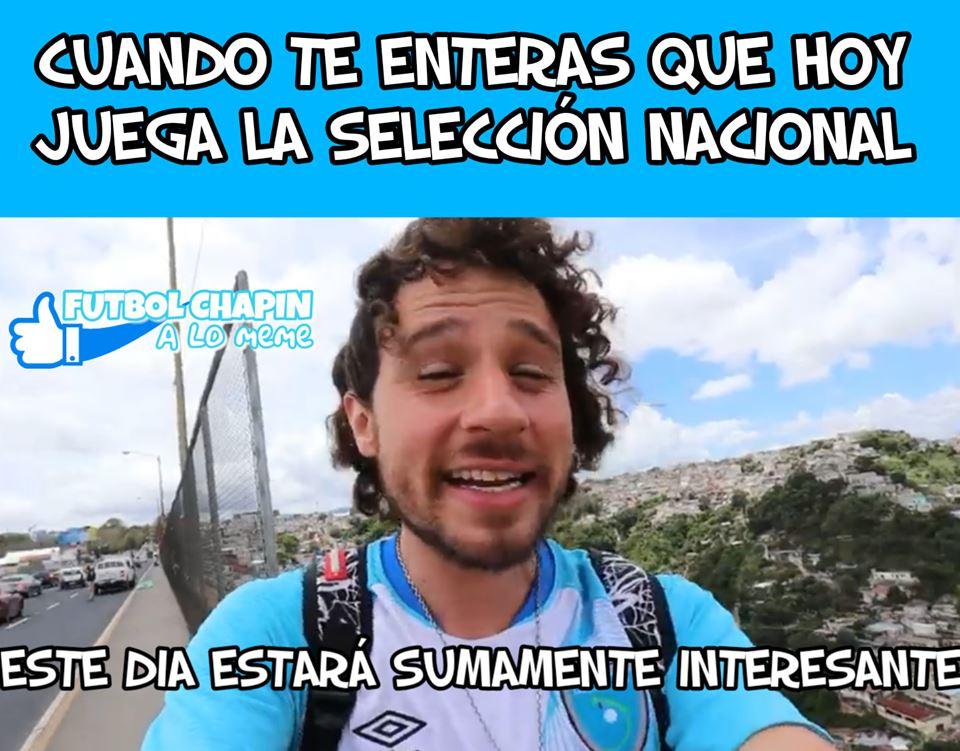 Memes del partid Anguila vs Guatemala