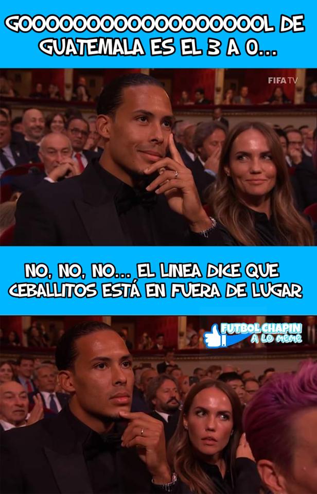 Memes Anguila vs Guatemala