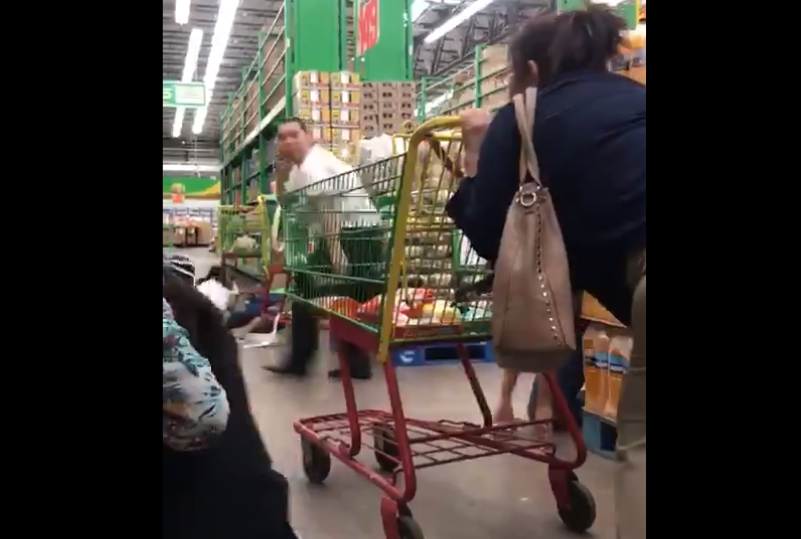 Terror en supermercado tras balacera para rescatar al hijo del Chapo Guzmán