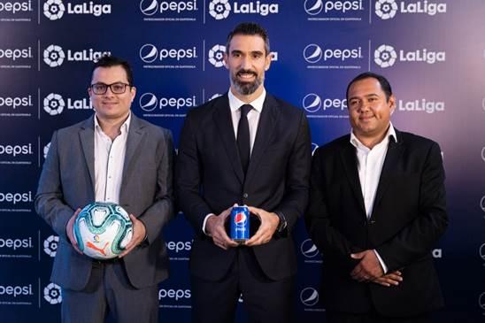 Pepsi, patrocinador oficial de LaLiga