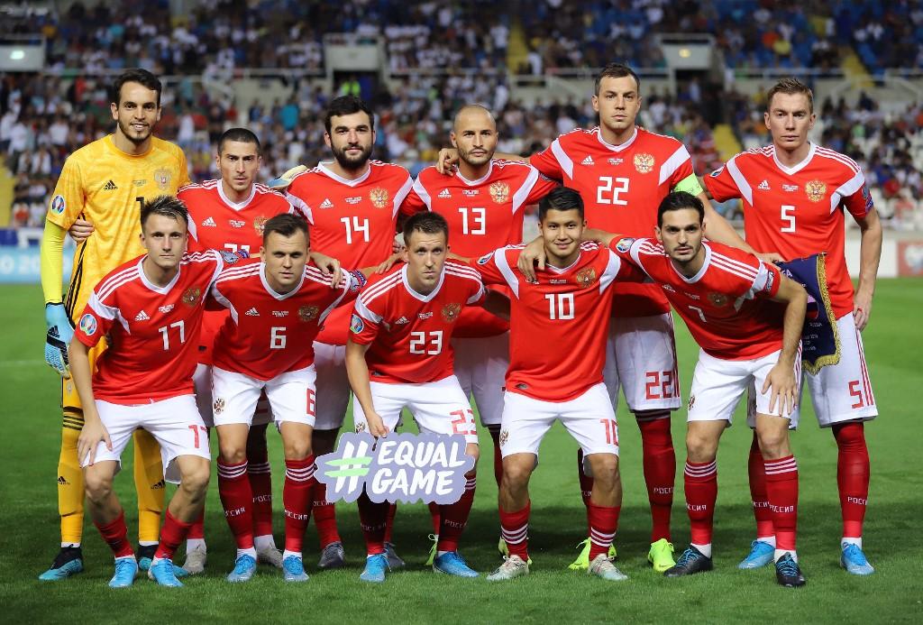 Selección de Rusia, eliminatorias hacia el Eurocopa 2020