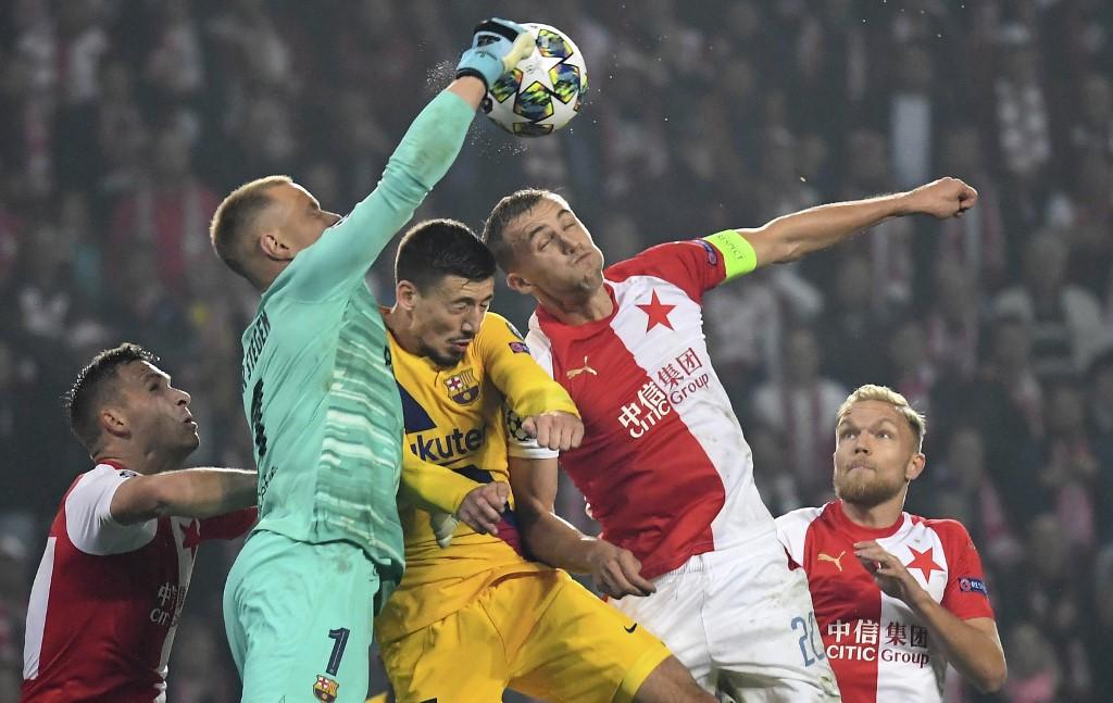 Slavia Praga vs Barcelona