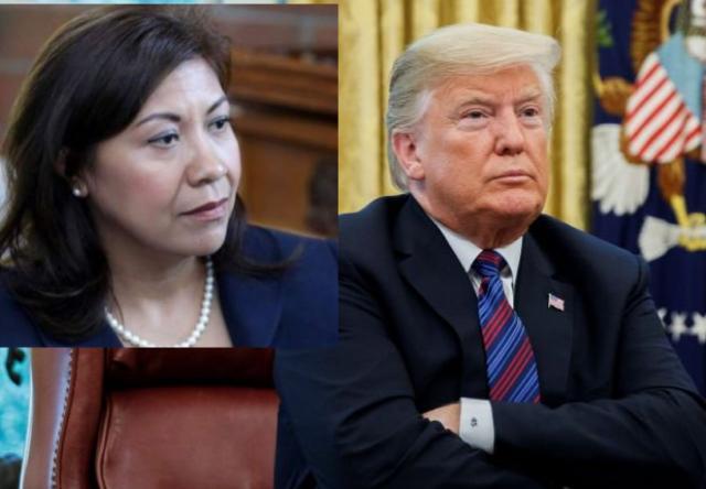 Norma Torres reacciona ante planes de Trump con migrantes