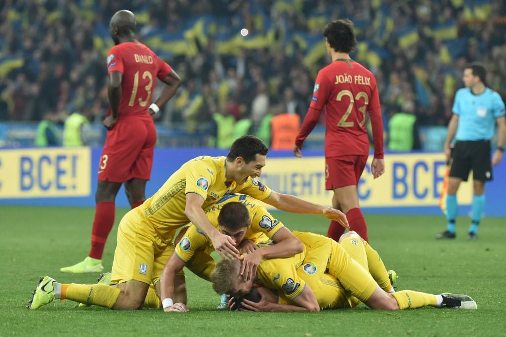 Ucrania vs Portugal