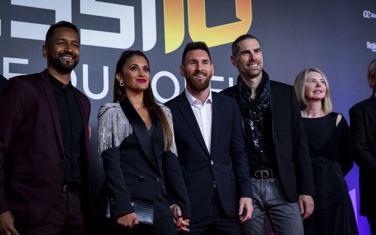 Lionel presente en el estreno mundial del Messi 10 del Cirque Du Soleil
