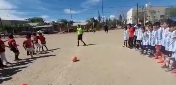 Balacera interrumpe y causa pánico en partido de futbol infantil