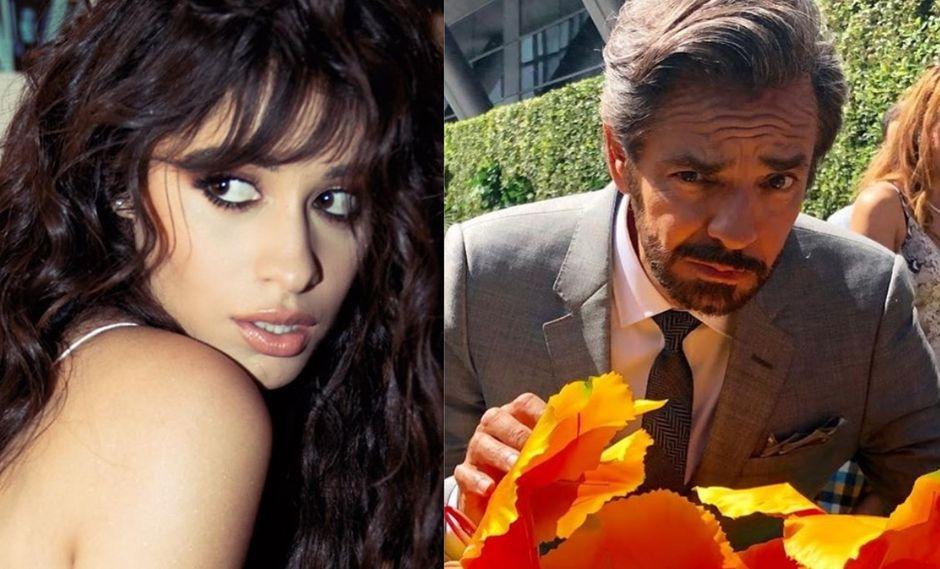 Camila Cabello y Eugenio Derbez