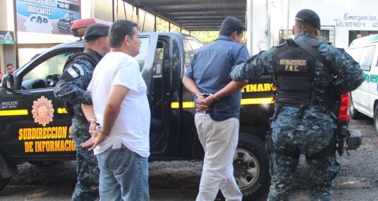 Capturados en Suchitepéquez