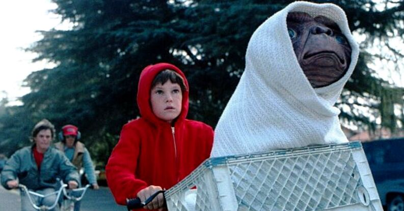 Protagonista E.T.