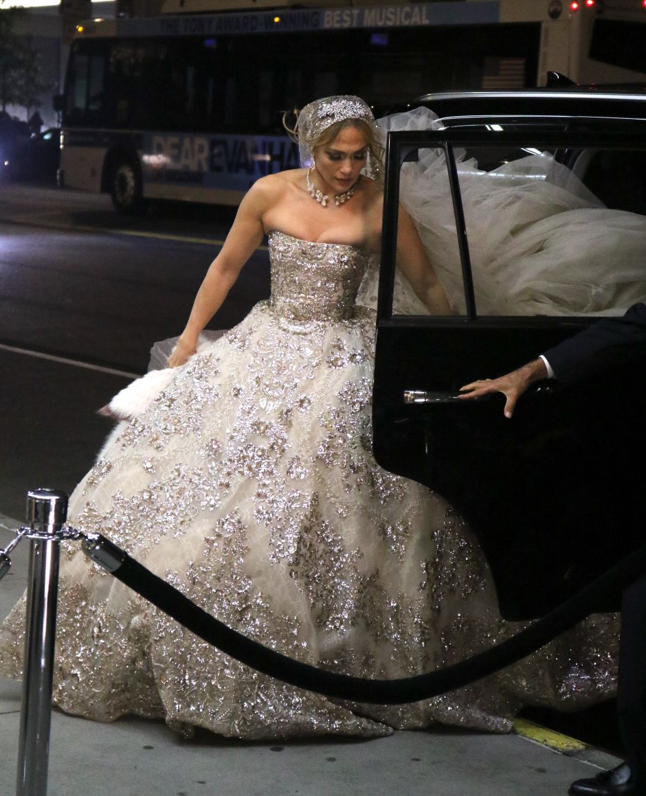 Vestido de novia Jennifer López