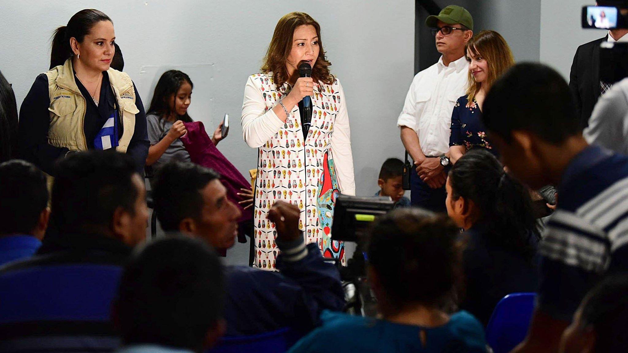 Jimmy Morales y Patricia de Morales