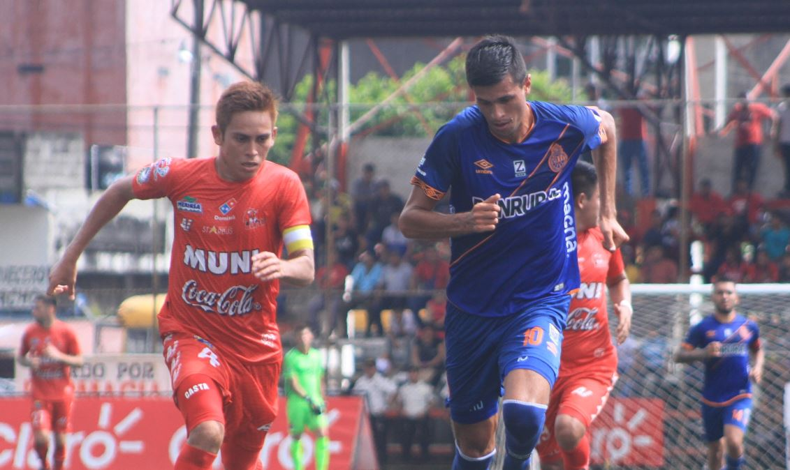 Foto Municipal | Rojos y toros empataron a dos goles en el estadio Santa Lucía