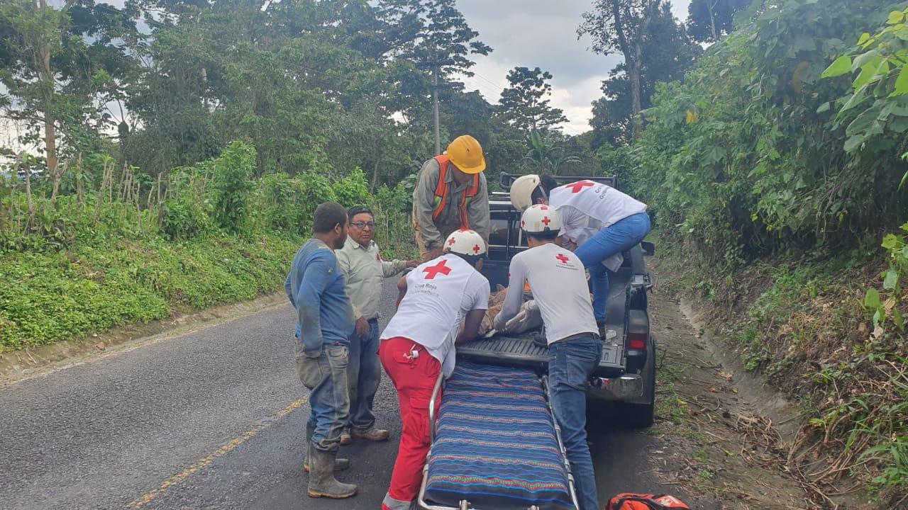 Soterrados en San Marcos Palajunoj, El Palmar Quetzaltenango