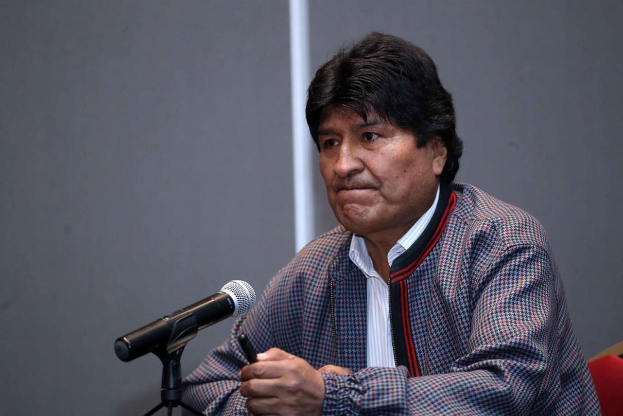 Acusan al expresidente boliviano Evo Morales