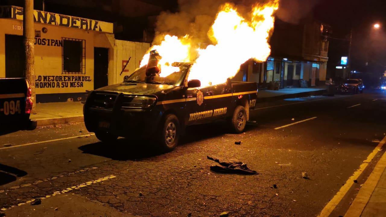 Balacera en la zona 7 de la Capital deja cuatro policías heridos