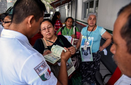 Caravana de madres de migrantes desaparecidos cruzará México. Foto: AFP