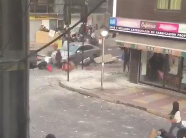Chile: manifestantes fueron arrollados por un vehículo