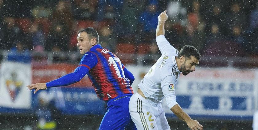 Eibar vs Real Madrid, la Liga 2019