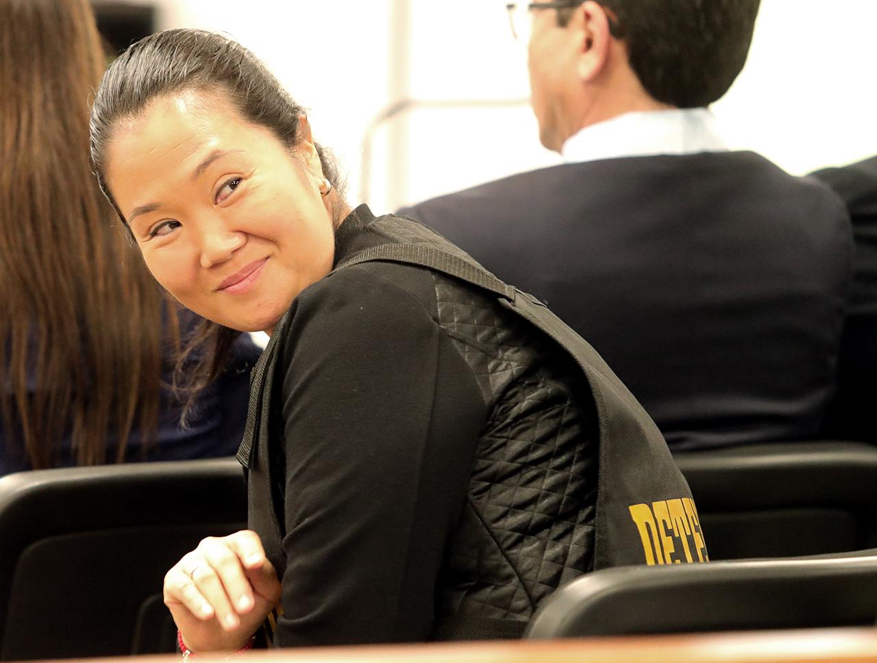 En foto: la líder opositora peruana Keiko Fujimori.