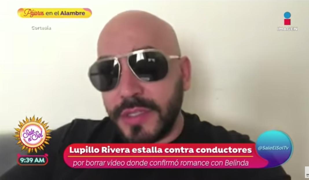 Lupillo Rivera fue chantajeado para hablar sobre romance con Belinda