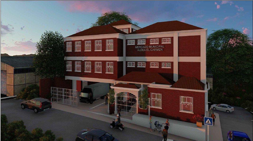 Construcción del mercado de la aldea El Carmen genera disputas - Emisoras Unidas