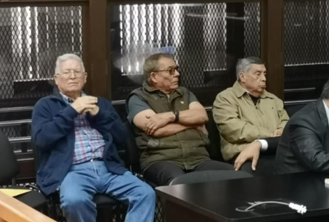 Militares retirados son enviados a proceso penal por caso Genocidio