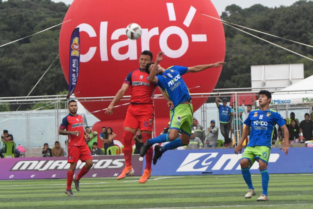 Mixco vs Municipal, Apertura 2019