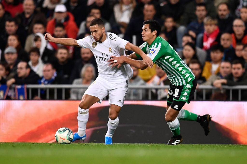 Eden Hazard, Real Madrid vs Betis