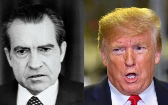 Trump y Nixon 45 años depués un presidente republicano enfrenta juicio político