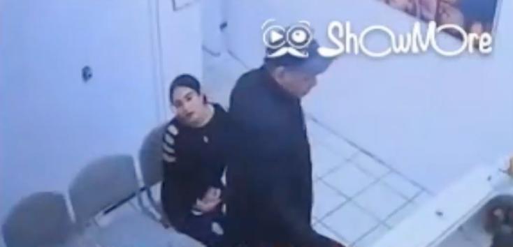 VIDEO: Mujer embarazada se roba máquina de ultrasonido