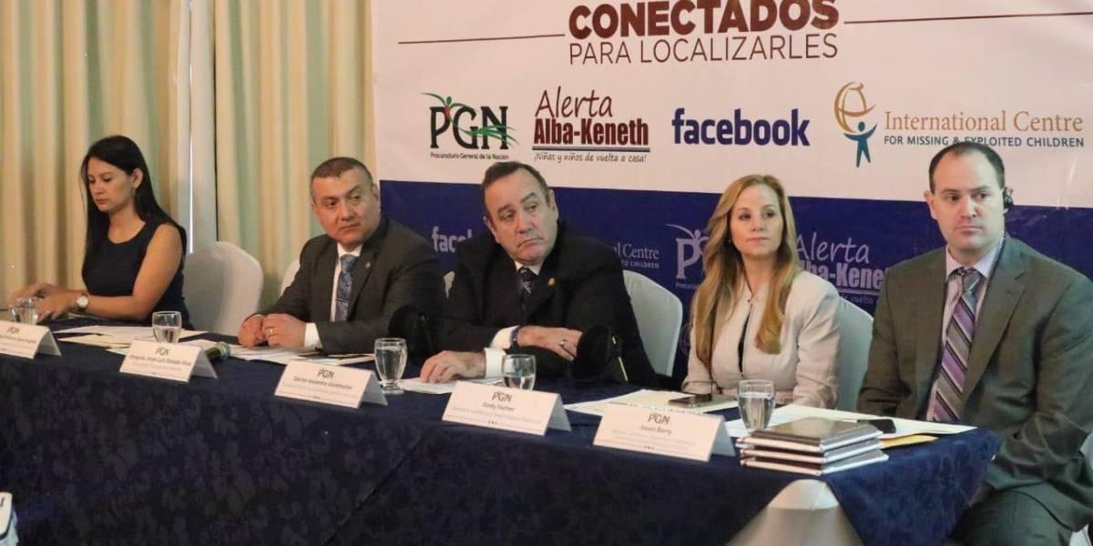 PGN y Facebook se alían para fortalecer alerta Alba-Keneth