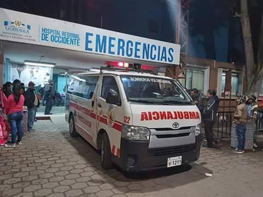 Atropellados en Momostenango