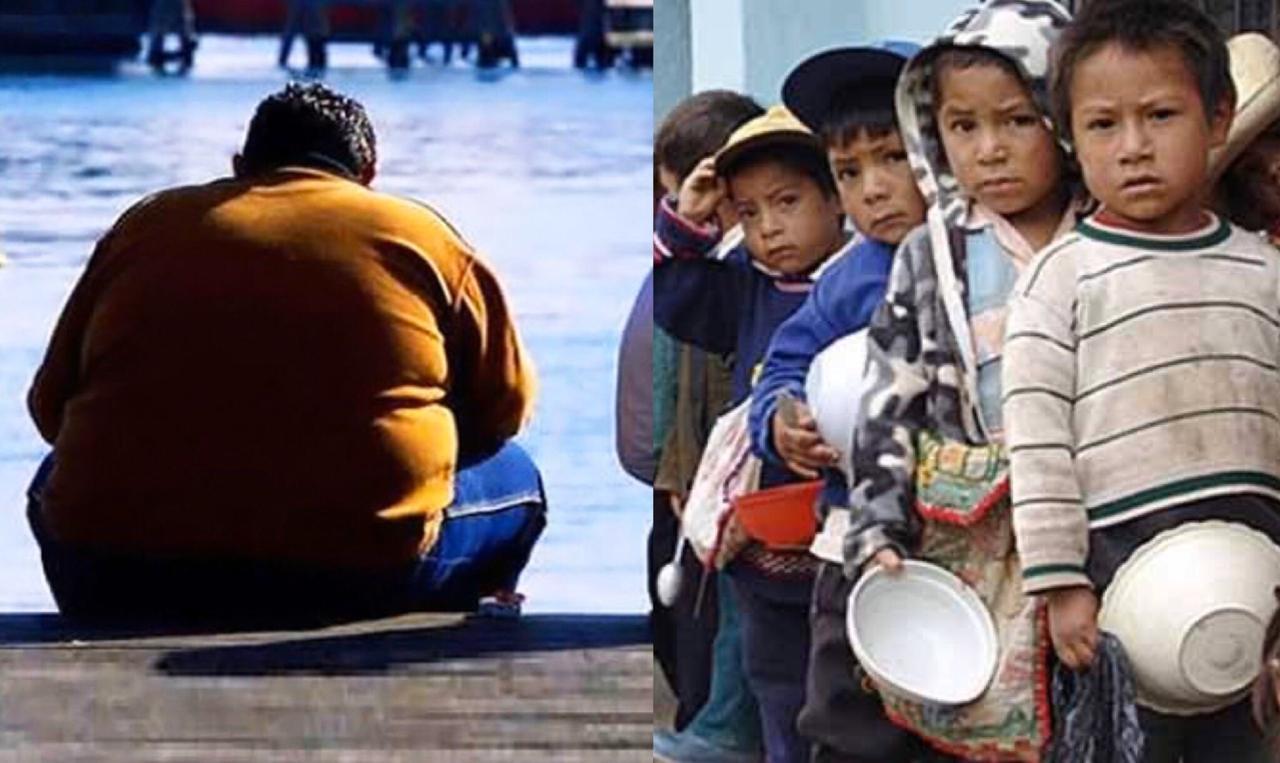 ONU pide frenar obesidad y hambre