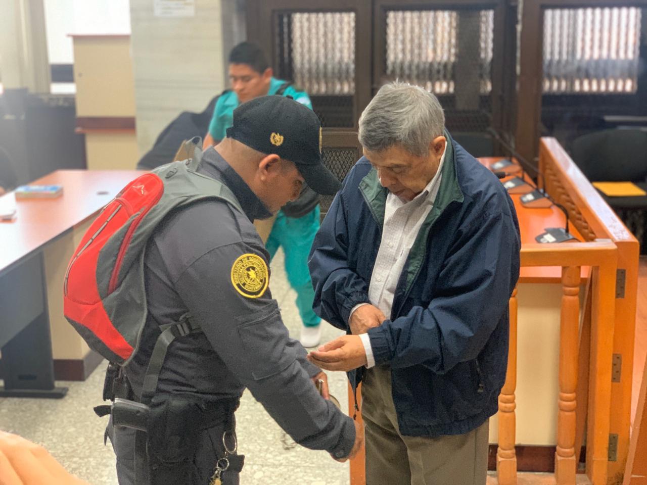 El general retirado Manuel Callejas es uno de los señalados.