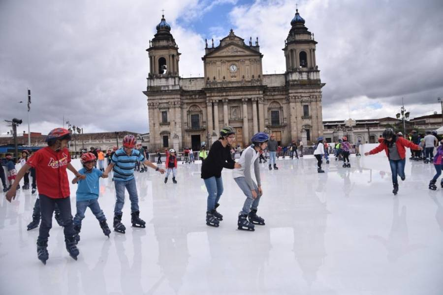 Festival navideño Paseo de la Sexta