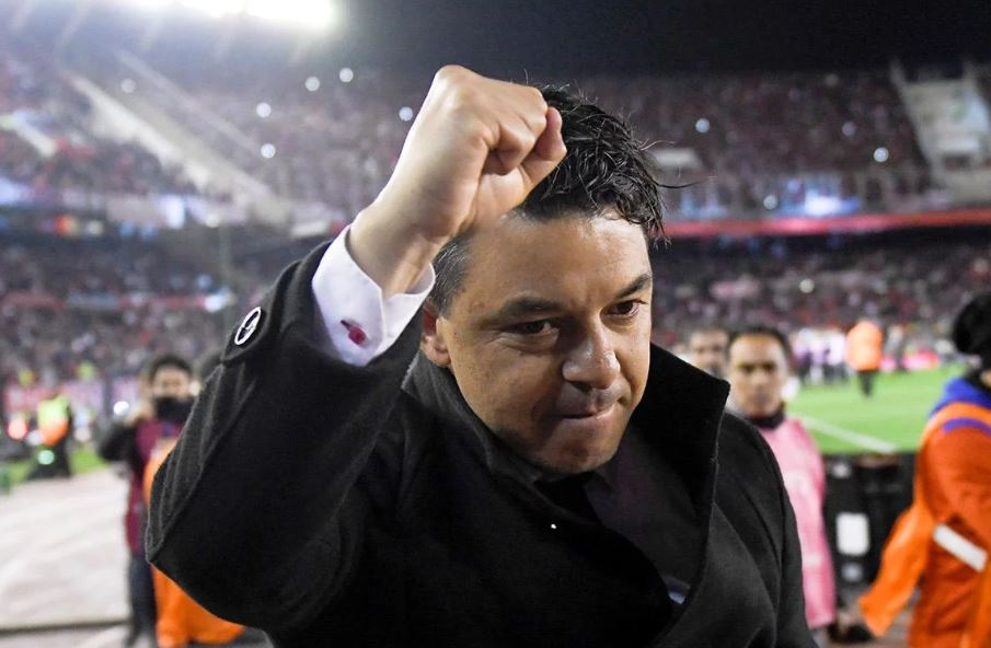 Foto AFP   Desde hace varios días el nombre de Marcelo Gallardo suena para dirigir al Barcelona