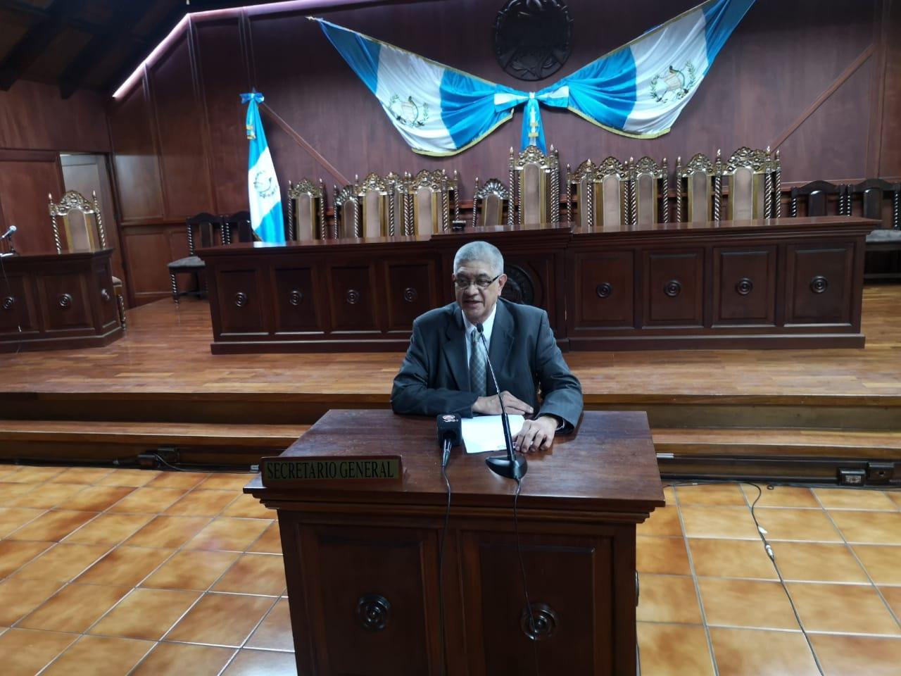 Secretario de la CC Martín Guzmán