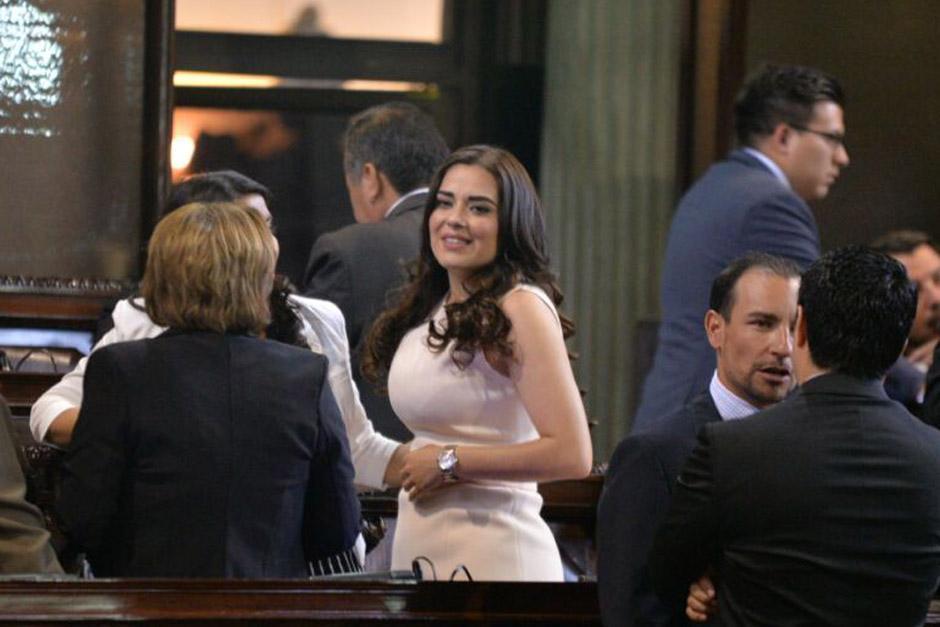 Diputada Patricia Sandoval.
