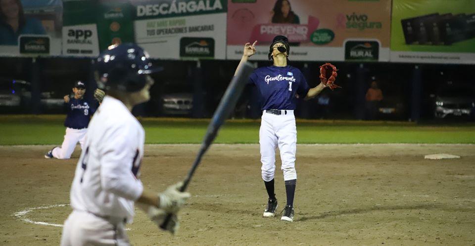 Foto Softbol Guatemala   Juan Diego Morales fue el pitcher ganador.