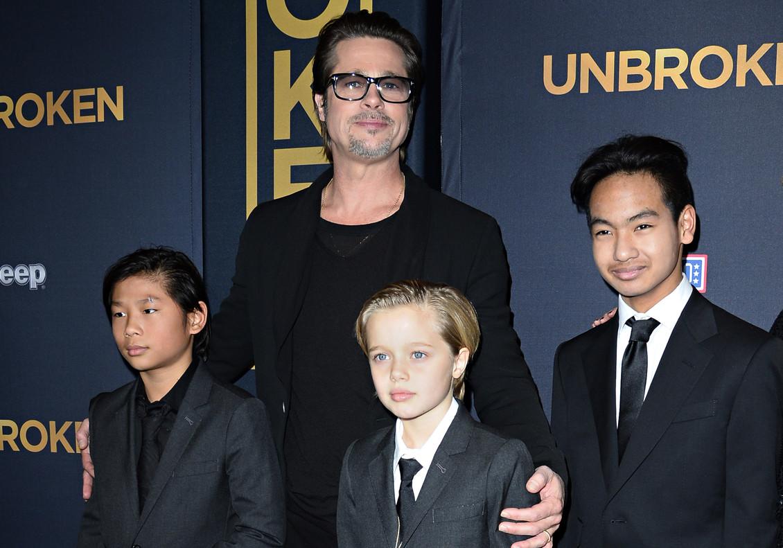 Shiloh hija de Brad Pitt