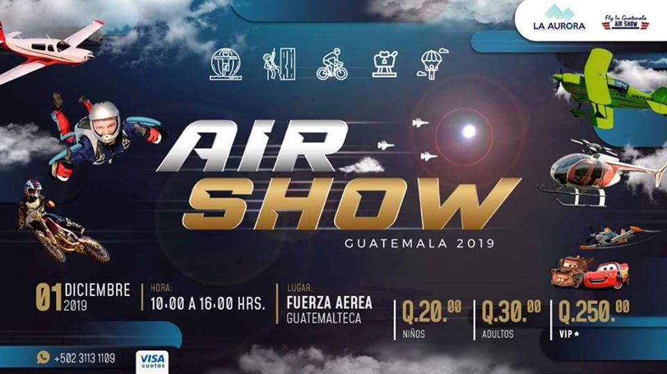 Show Aéreo en Guatemala