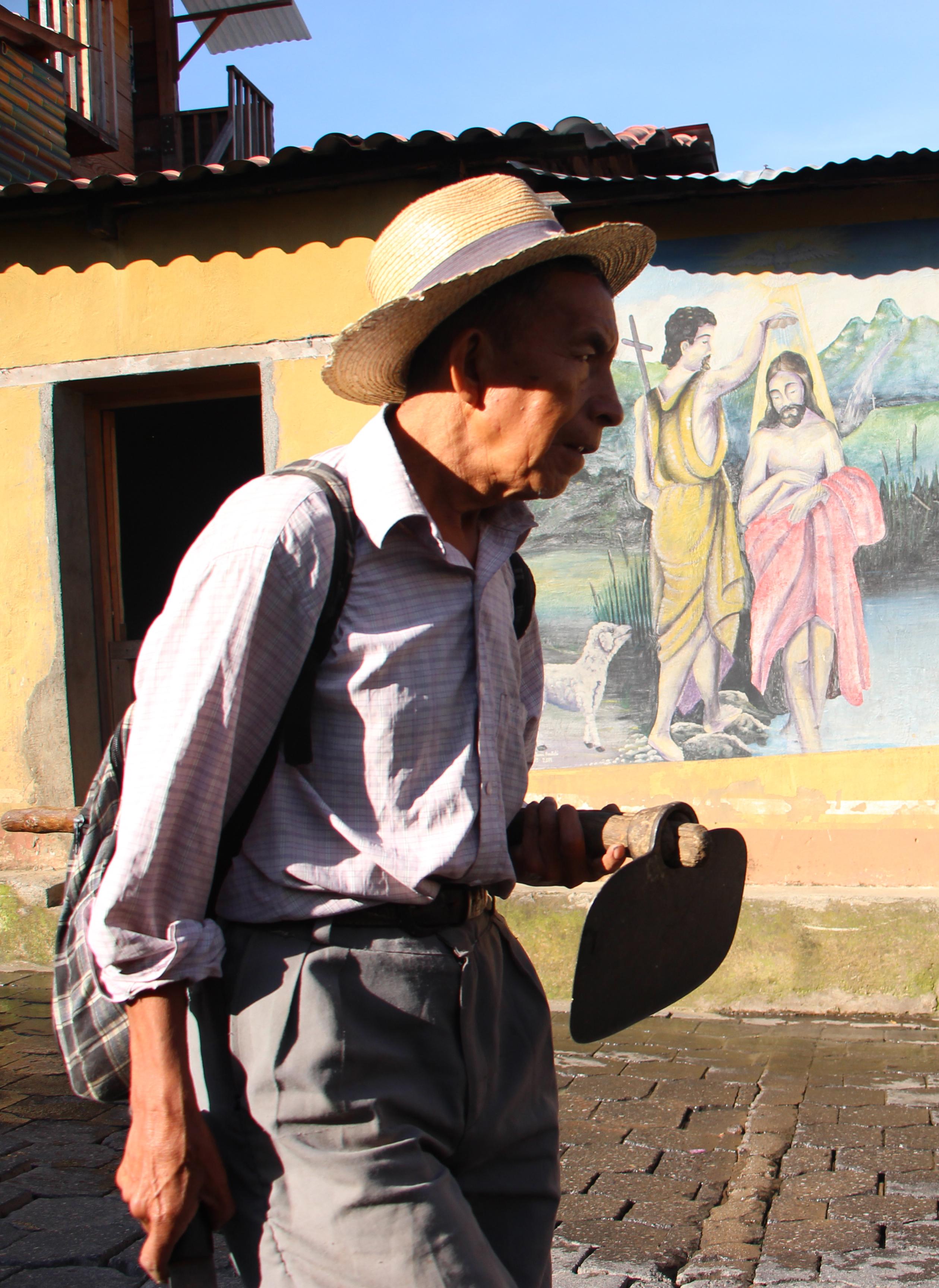 La agricultura es uno de los principales medios de subsistencia de la comunidad.