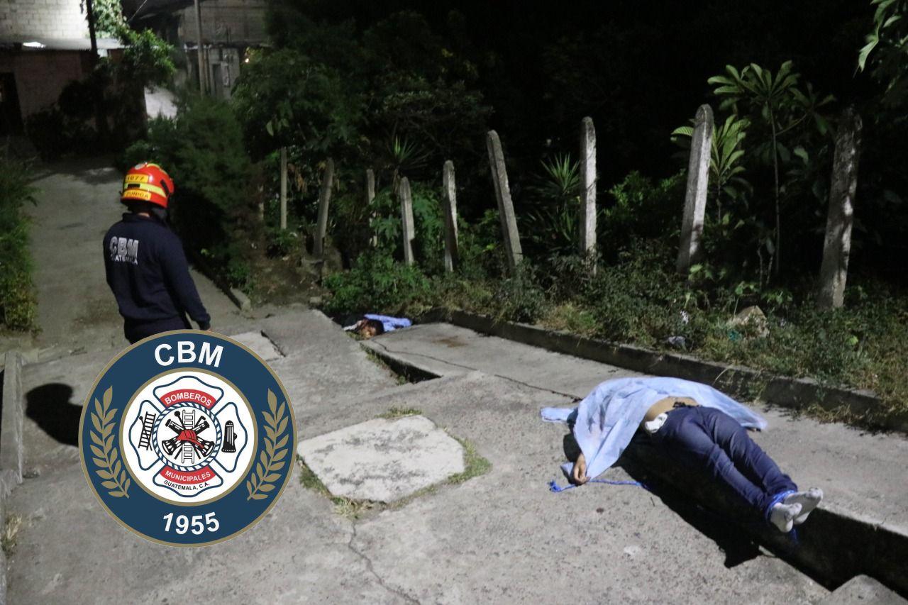 Pareja asesinada en Villa Nueva