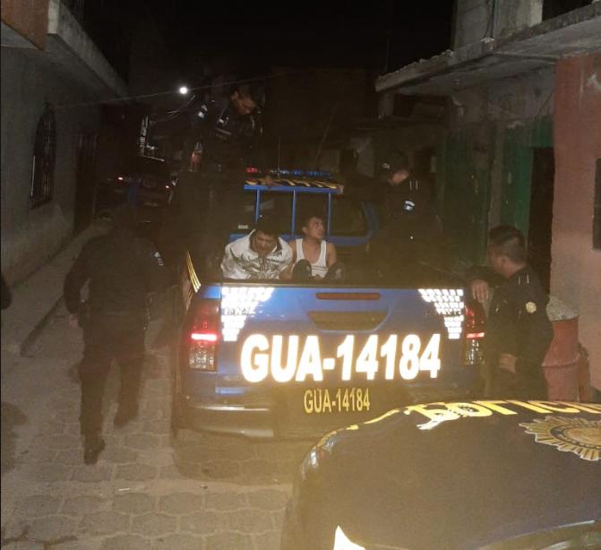 Adolescentes remitidos en Villa Nueva