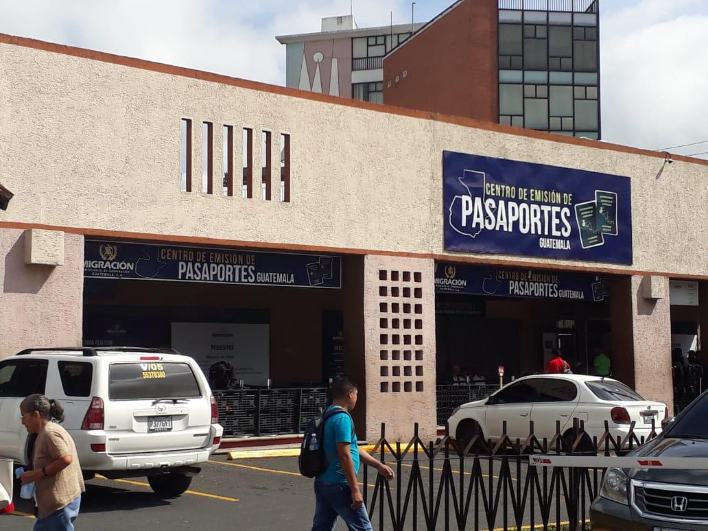 Centro de emisión de pasaportes cerrado hata el jueves